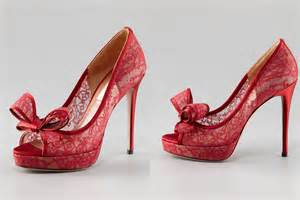 neiman wedding shoes illusion wedding shoes for 2013 brides lace onewed