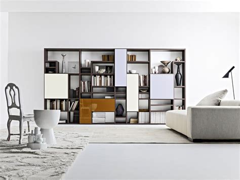 Living Room Bookshelves Modern by Contemporary Bookshelves Furniture And Bookcases Ideas