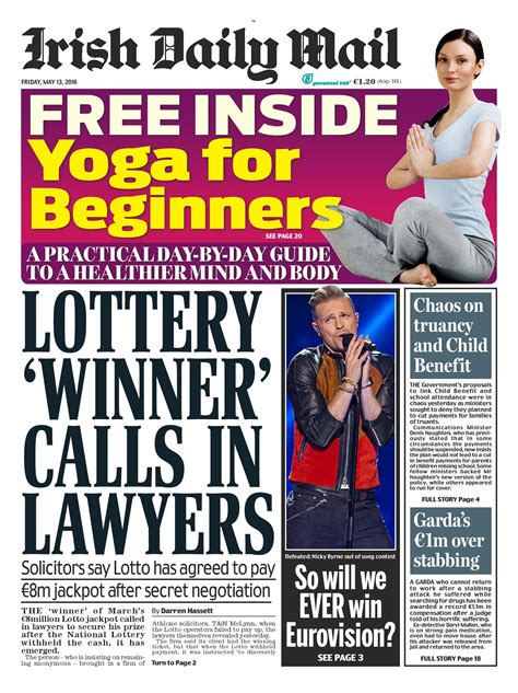 newspaper front pages mail daily friday buzz ie