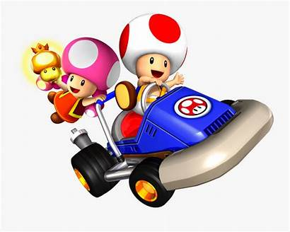 Mario Kart Toad Toadette Clipart Clipartkey