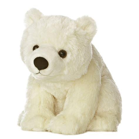 destination nation polar bear stuffed animal by aurora