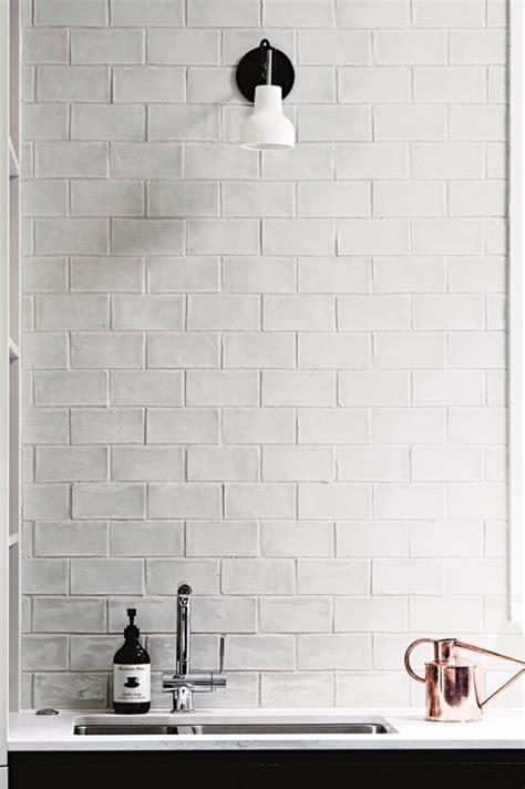 handmade kitchen tiles best 25 white brick tiles ideas on white 1554