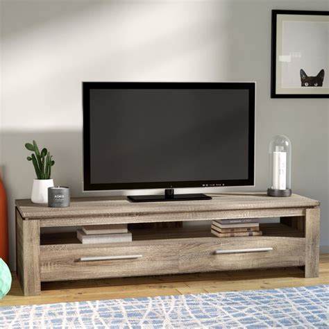 modern contemporary tv stands youll love wayfair