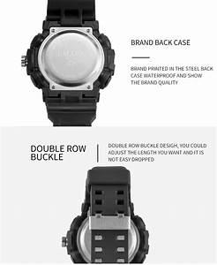 Wholesale Smael 1642 Plastic Sport Watch Waterproof Analog