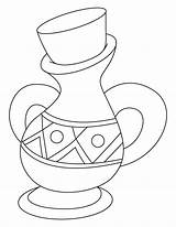 Jar Coloring Pages sketch template