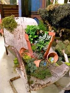 Fußkappen Für Gartenstühle Selber Machen : minigarten blechstuhl alt garten pinterest ~ Whattoseeinmadrid.com Haus und Dekorationen