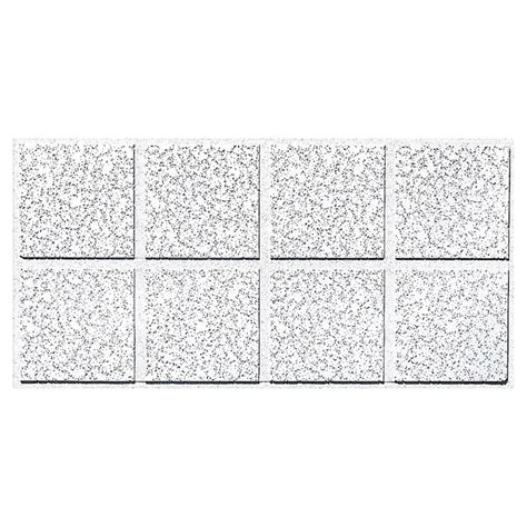 shop armstrong ceilings common 48 in x 24 in actual 47 704 in x 23 704 in cortega 10 pack