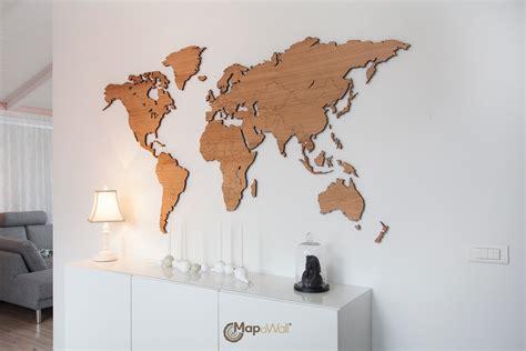 wooden world map   oak woodenworldmapcom