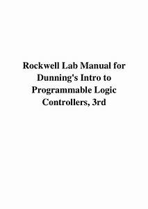 2005  Rockwell Lab Manual For Dunning U0026 39 S Intro To