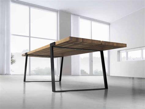 Design Esstisch Holz by Die Besten 25 Esstisch Holz Metall Ideen Auf