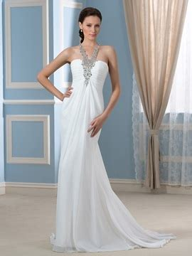 appliques empire waist  size wedding dress tidebuycom