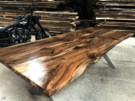 Epoxy Resin Reclaimed Teak Wood Coffee Tables