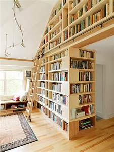 Rolling Library Ladder Family Room Rustic With Built In