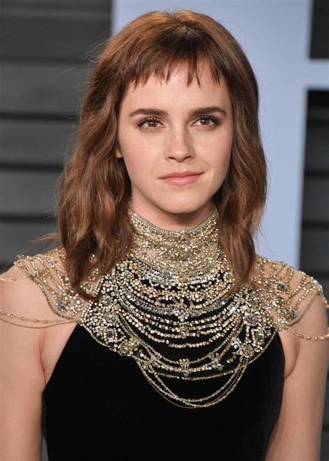 Oscars Emma Watson Unveils Time Tattoo But