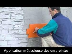 Comment Faire Enduit Imitation Pierre : b ton imprim mural youtube ~ Melissatoandfro.com Idées de Décoration