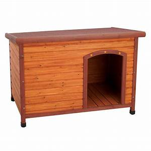 premium large doghouse 01702 the home depot With wood dog houses home depot