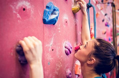 Indoor Rock Climbing Women How Guide Tips Advice