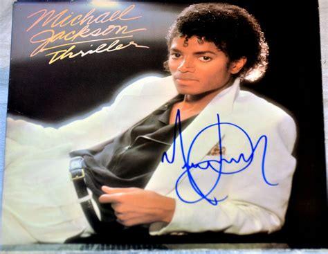 Michael Jackson Hand Signed Autographed Original Thriller