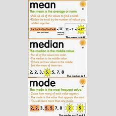 Matemáticas Statistics Grade 3  Mean, Median, Mode And Standard Deviation