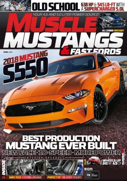 muscle mustangs  fast fords  magazine true