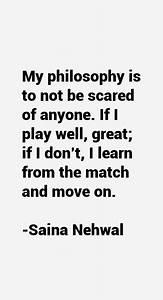 Saina Nehwal Qu... Saina Nehwal Quotes
