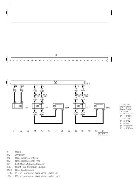 need wiring diagram for stereo in 2003 audi a4