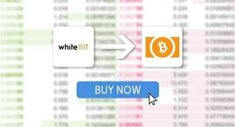 If you haven't yet bought into the crypto mania, it just got a lot easier to do so. How to Buy Bitcoin Cash (BCH) on WhiteBIT Exchange ...