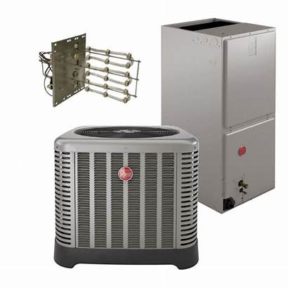 Seer Heat Pump Ton Rheem System Ac