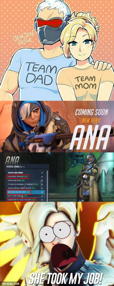 Soldier 76 Memes - overwatch family someone s a homewrecker overwatch gaming and overwatch memes
