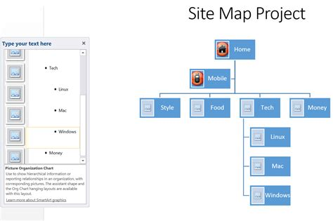 How To Create A Site Map In Microsoft Word  Techwallacom
