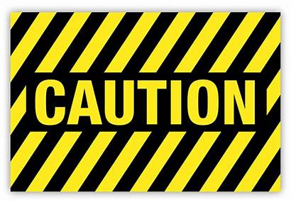 Caution Label Safety Striped Labels Supply Creative