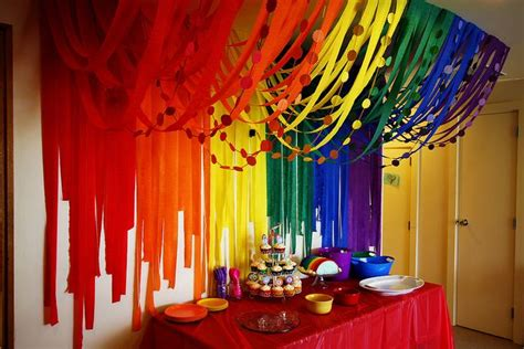 25 best ideas about streamer decorations on baby shower backdrop streamer ideas