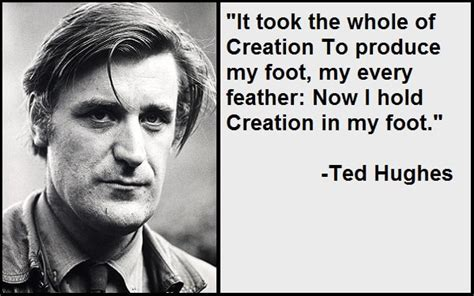 The genius of ted hughes, delivered daily. Best and Catchy Motivational Ted Hughes Quotes And Sayings