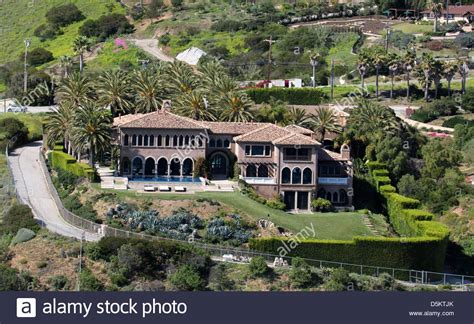 Aerial View Of Cher 's Home In Malibu Los Angeles