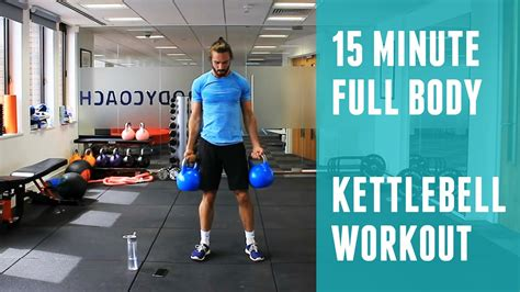 Full Body Kettlebell Workout | The Body Coach - YouTube