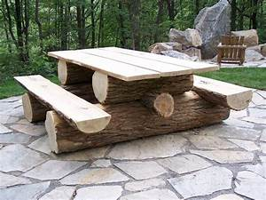Unique Furniture Made From Tree Stumps And Logs The