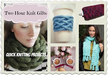 Gifts Knit Hour Knitting Projects Quick