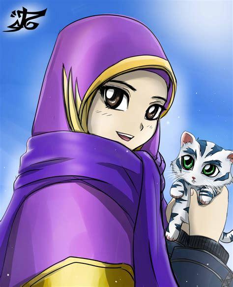 anime hijab cadar فيكتور انمى محجبات اخر جمال لاحلى فتوكات الصفحة 2