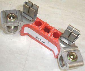 red milbank meter socket repair kit block  amp ping