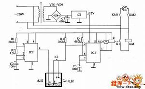 agricultural automatical water feeder circuit diagarm 19 With the nc monostable multivibrator circuit shown in the chart is composed