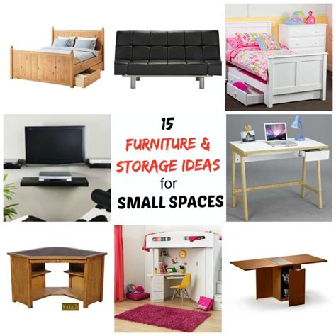 Storage Inspiration Small Spaces 26 best images about multipurpose furniture on