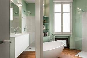 Store Salle De Bain : petites salles de bains r nov es ~ Edinachiropracticcenter.com Idées de Décoration