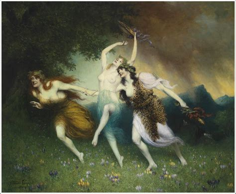 wagnerian paintings  ferdinand leeke