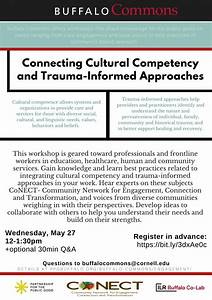 Buffalo Commons Virtual Workshop  Connecting Cultural