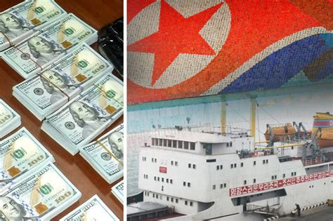 North Korea Ship Caught Smuggling Cash Into Russia