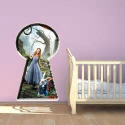 Wall Mural Decals Uk by Alice In Wonderland Wall Art Ebay