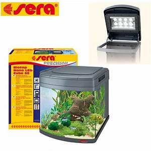 Sera Led Beleuchtung : sera biotop nano led cube 60 liter inkl beleuchtung filter abdeckung ebay ~ Eleganceandgraceweddings.com Haus und Dekorationen