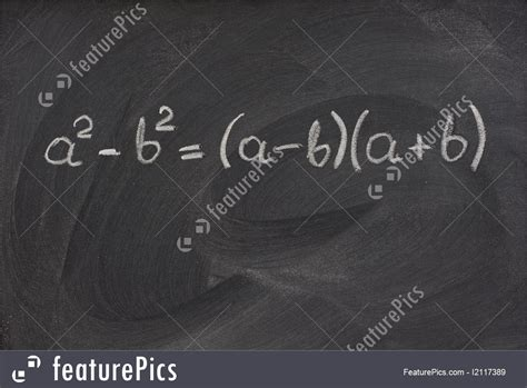 picture  simple mathematical formula   blackboard