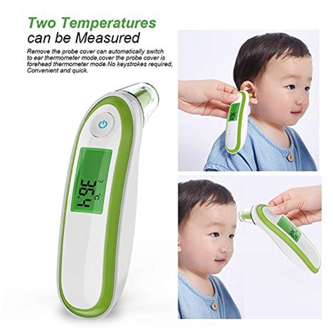 Yonker YK-IRT1 Infrared Ear Thermometer for Kids Adult ...