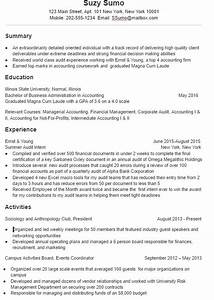 A super effective college student resume sample and tips for Effective resume examples
